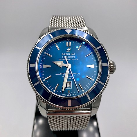 Superocean Heritage 46 Men's Stainless Steel Watch