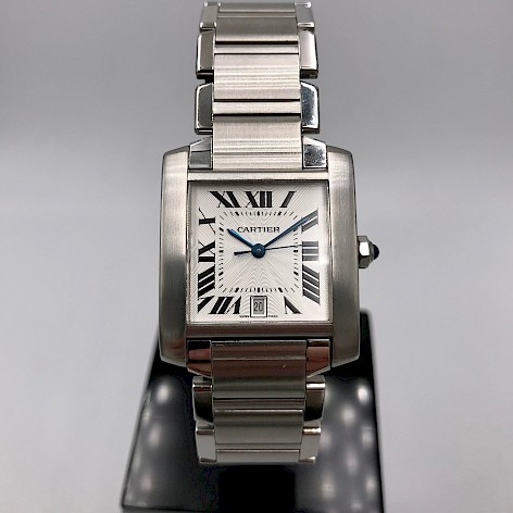 Tank Française Automatic Gents Stainless Steel watch