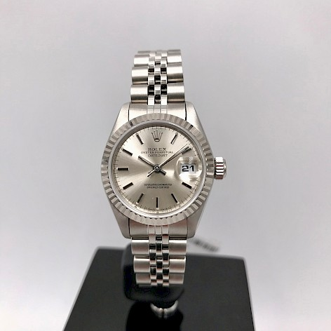 Stainless Steel & 18ct White Gold Datejust Ladies