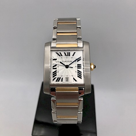 TANK FRANÇAISE Gents Automatic 18CT GOLD AND STAINLESS STEEL WATCH